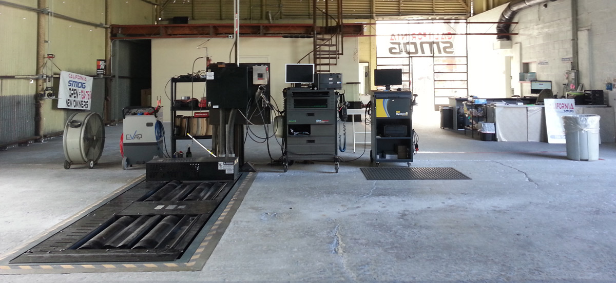 Smog Check equipment